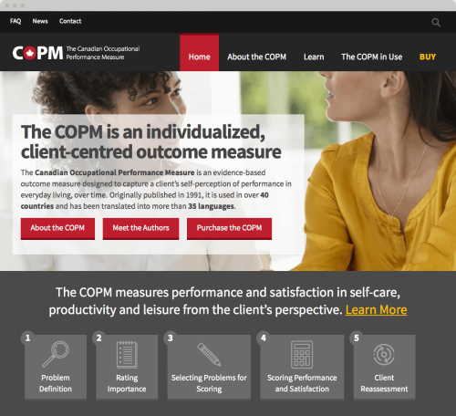 copm home page