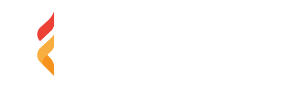 Firewell logo - Dark Background